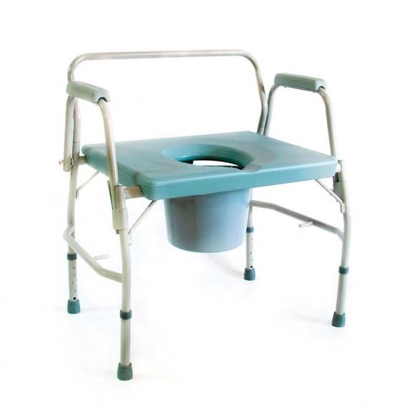 Кресло-стул с санитарным оснащением Мега-Оптим Hmp-7012