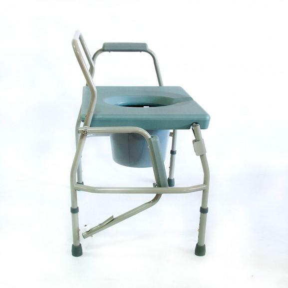 Кресло-стул с санитарным оснащением Мега-Оптим Hmp-7012 - фото №3