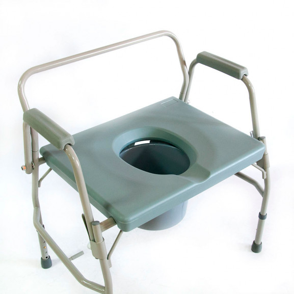 Кресло-стул с санитарным оснащением Мега-Оптим Hmp-7012 - фото №1