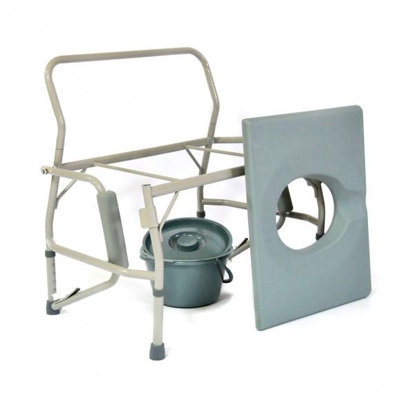 Кресло-стул с санитарным оснащением Мега-Оптим Hmp-7012 - фото №2