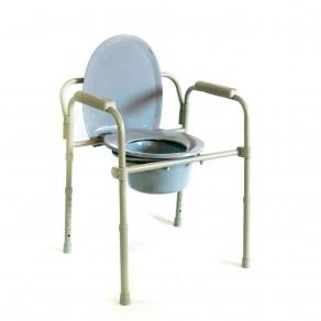 Кресло-стул с санитарным оснащением Мега-Оптим Hmp-7210a
