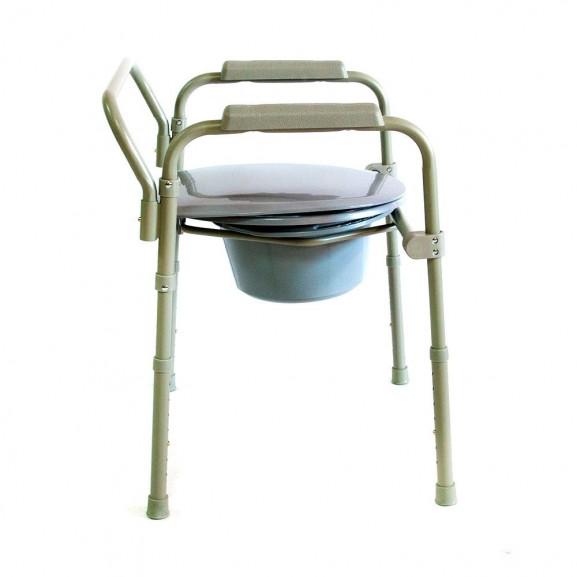 Кресло-стул с санитарным оснащением Мега-Оптим Hmp-7210a - фото №2