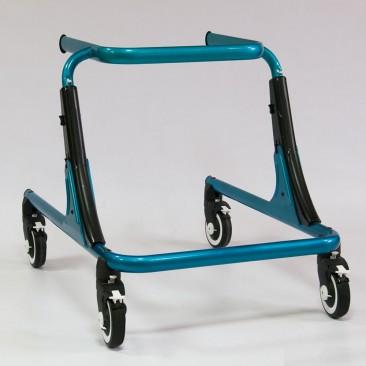 Каркас ходунков выполнен из прочного анодированного алюминия