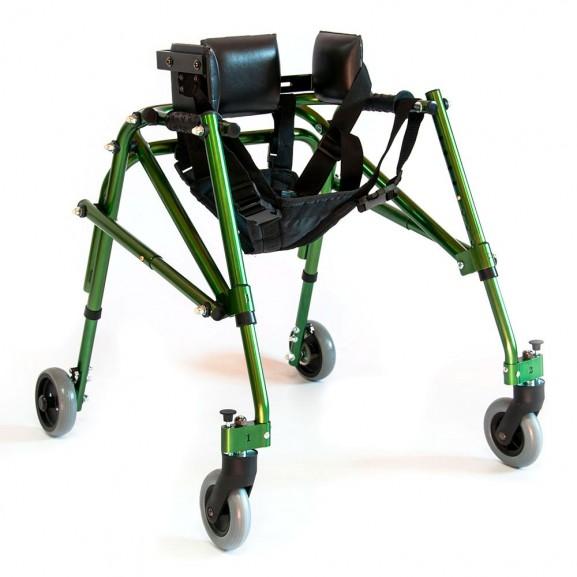 Опоры-ходунки ортопедические регулируемые по высоте на 4-х колесах Мега-Оптим Hmp-Ka 1200 - фото №1
