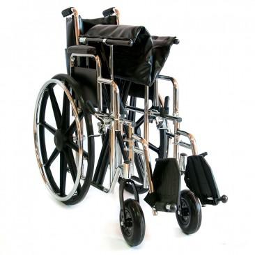 Кресло-коляска складывается и раскладывается без инструмент