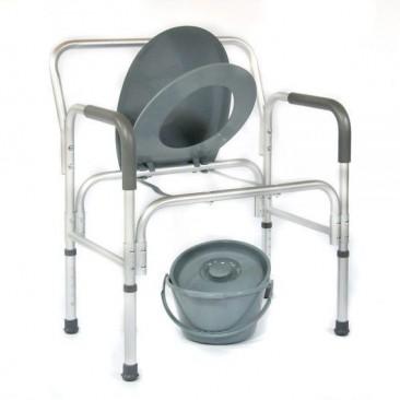 Съемная санитарная емкость с крышкой и дужкой