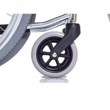 Передние колеса цельнолитые
