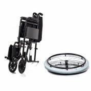 Рама складная (по вертикальной оси), быстросъемные задние колеса