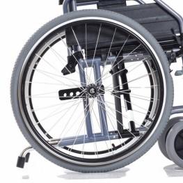 Колеса задние пневматические быстросъемные с кнопочнойфиксацией