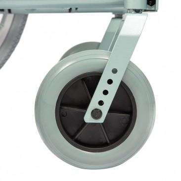 Передние колеса, регулируемые по высоте