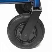 Колёса передние пневматические, регулируемые по высоте