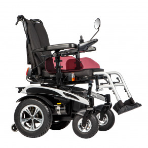 Кресло-коляска инвалидная с электроприводом и зеркалом заднего вида Ortonica Pulse 340