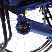 Удобная система индивидуальной регулировки задних колёс