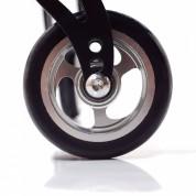 Передние колёса, регулируемые по вертикали