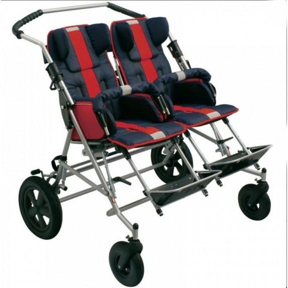 Детская инвалидная коляска ДЦП Patron Tom 4 X-country Classic Duo T4cwyp - фото №2