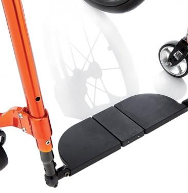 Высота сидения спереди регулируется за счет опорной вилки