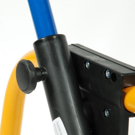Ходунки складные детские четырехопорные Rebotec Вок-он на колесах (S) 175.20 - фото №4