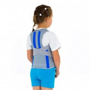 Детский высокий грудопоясничный бандаж с регулировкой высоты Reh4Mat Senner Am-wsp-06