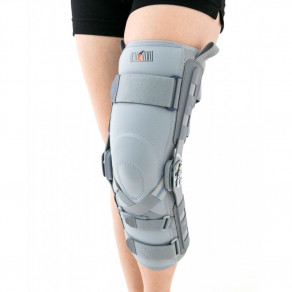 Ортез коленного сустава с шинами 2ra и усилением Acl Reh4Mat ProFit Eb-skl/2ra
