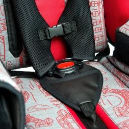 5-точечные ремни обеспечивают высокий уровень безопасности