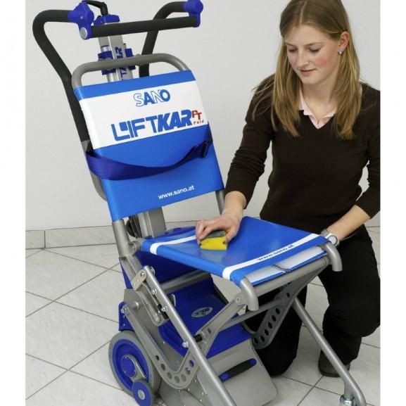 Лестничный колесный подъемник Sano Transportgeraete Gmbh Pt Fold 130 - фото №2