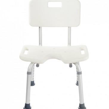 Спинка и сиденье из высокопрочного гигиеничного пластика