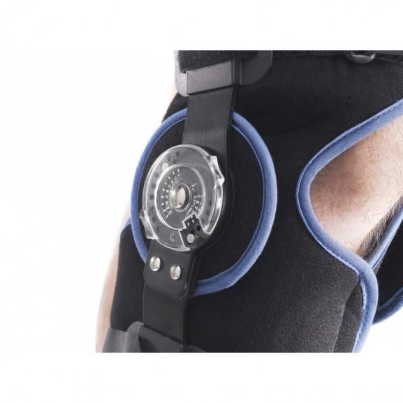 Шарнирный коленный ортез Thuasne Ligaflex post-op 2384 - фото №2