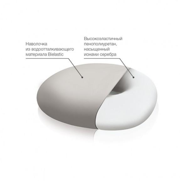 Ортопедическая подушка с отверстием Trelax П06 Medica - фото №1