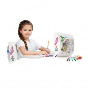 Ортопедическая подушка-раскраска для формирования осанки для детей от 6 до 12 лет Trelax ПФ209 Fantasy