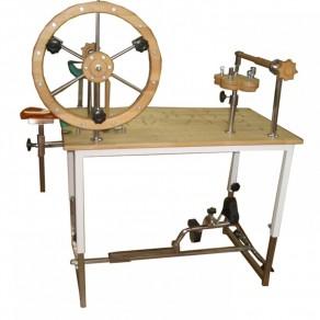 Стол для механотерапии в комплекте с тренажером для нижних конечностей Я могу! 401.2