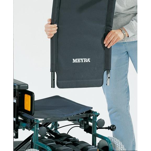 Кресло-коляска с электроприводом складная Meyra 9.500 Clou - фото №7