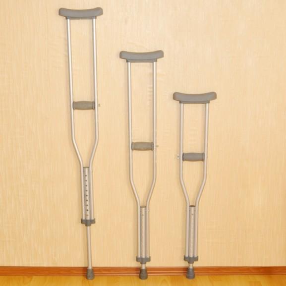 Костыли подмышечные алюминиевые с Упс Мега-Оптим Lk 3010 L (А) взрослые