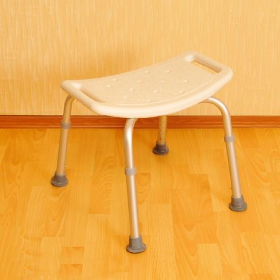Стульчик без спинки для ванной комнаты Мега-Оптим Lk 4010