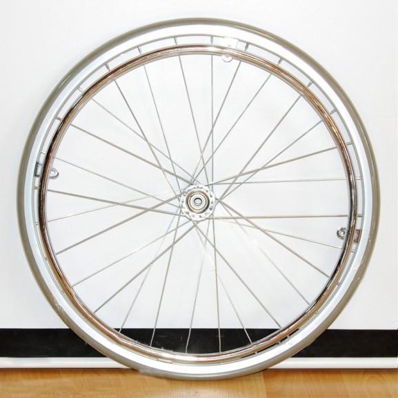 Колесо для коляски инвалидной стальное Мега-Оптим Pr 6005 (S)