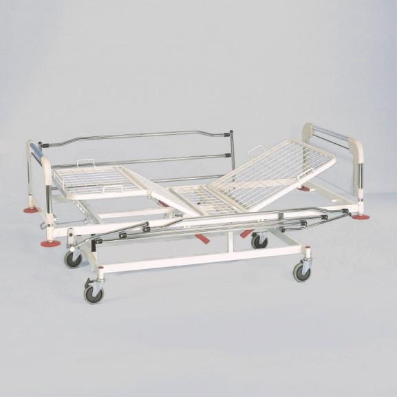 Кровать медицинская функциональная 4-х секционная механическая Vermeiren Luna Metal - фото №2