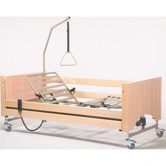 Кровать функциональная 4-х секционная электрическая (в комплекте с матрасом) Vermeiren Luna - фото №1