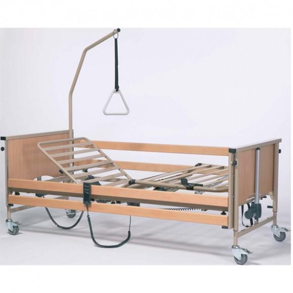 Кровать функциональная 4-х секционная электрическая (в комплекте с матрасом) Vermeiren LUNA Basic - фото №1