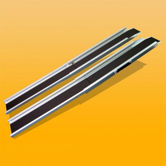 Пандус алюминиевый, телескопический, 2-х секционный Мега-Оптим Cf01-7120 А