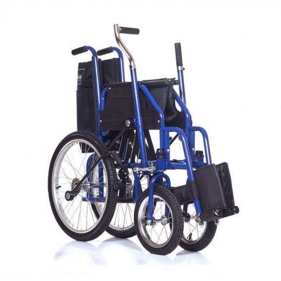 Инвалидная коляска с рычажным управлением Ortonica Base 145 - фото №11