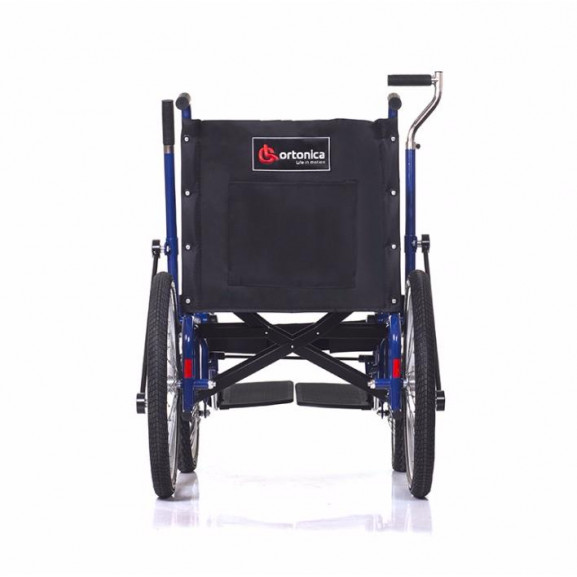 Инвалидная коляска с рычажным управлением Ortonica Base 145 - фото №2