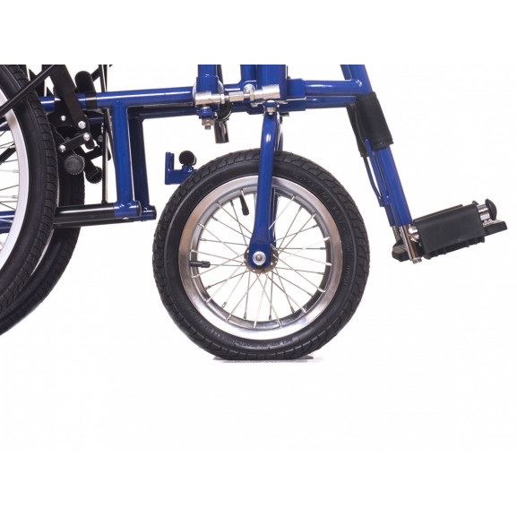 Инвалидная коляска с рычажным управлением Ortonica Base 145 - фото №12