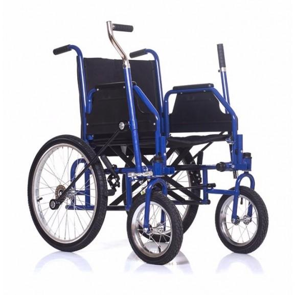 Инвалидная коляска с рычажным управлением Ortonica Base 145 - фото №5