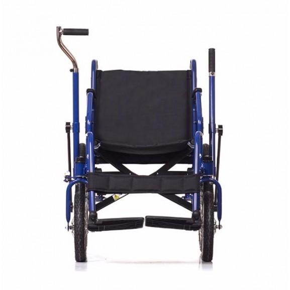Инвалидная коляска с рычажным управлением Ortonica Base 145 - фото №3