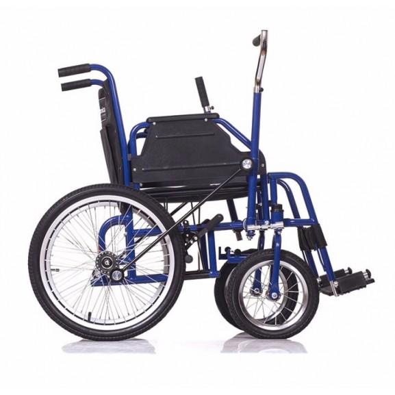 Инвалидная коляска с рычажным управлением Ortonica Base 145 - фото №4