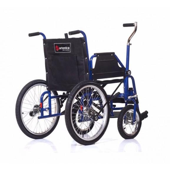 Инвалидная коляска с рычажным управлением Ortonica Base 145 - фото №1