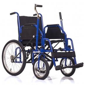 Инвалидная коляска с рычажным управлением Ortonica Base 145
