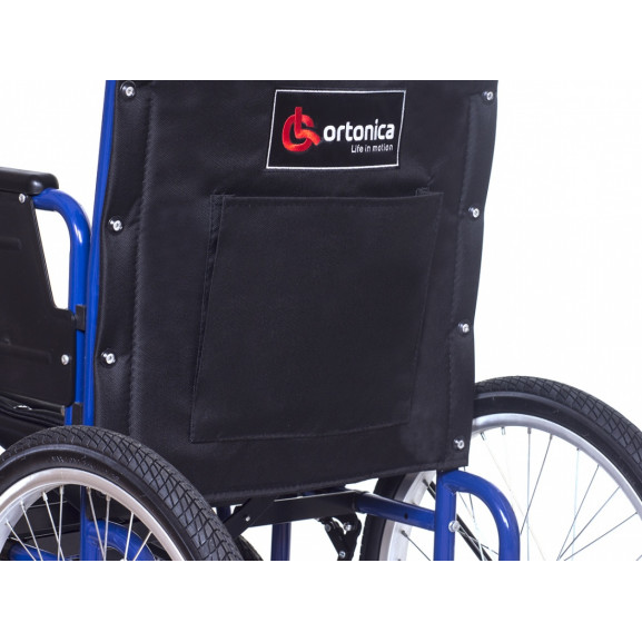 Инвалидная коляска с рычажным управлением Ortonica Base 145 - фото №6