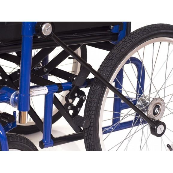 Инвалидная коляска с рычажным управлением Ortonica Base 145 - фото №10