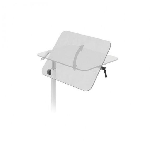 Стол прикроватный с 1-ой столешницей из HPL-пластика Конмет Холдинг Сн-24.01 - фото №2