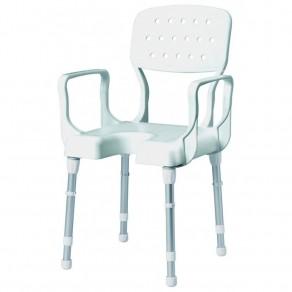 Регулируемый по высоте стул с подлокотниками и спинкой Rebotec Ницца 363.00.30